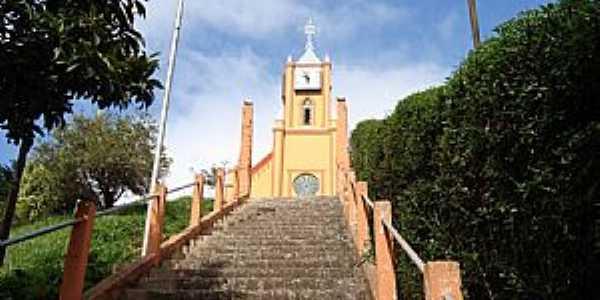 Santo Antônio do Pinhal-SP-Escadaria da Matriz de São José-Foto:denise braga