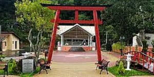 Santo Ant�nio do Pinhal-SP-Memorial em homenagem ao Centen�rio da Imigra��o Japonesa-Foto:felipegodoy.wordpress.com