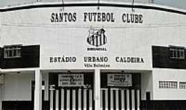Santos - Est�dio da Vila Belmiro Santos F.C foto Jo�o Savioli