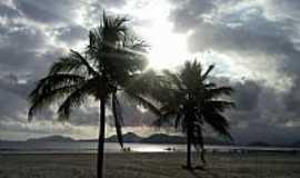 Santos - Santos-SP-Entardecer nas praias de Santos-Foto:ALTHAYR DE MORAES