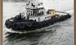 Santos - Santos - Porto Santos - barco-escolta-piloto, Por Rospo Mattiniero di Meolo