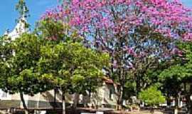São Benedito das Areias - Praça ao lado da Igreja em São Benedito das Areias-Foto:emilio cezar ferrari