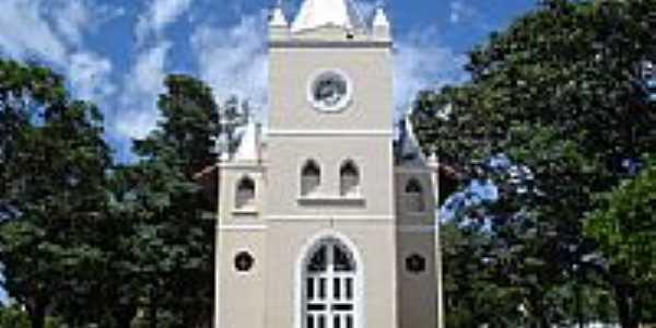 Igreja Matriz de São Benedito das Areias-Foto:Eduardo B.Faria