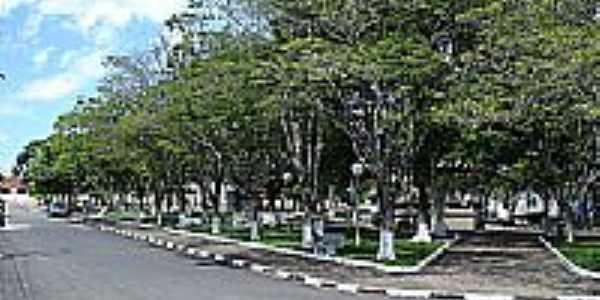 Praça-Foto:eduardo de faria