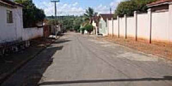 Rua João Martins em São Benedito das Areias-Foto:Eduardo B.