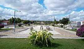 Riachão do Jacuípe - Praça em Riachão do Jacuípe-BA-Foto:Rekarte