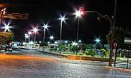 Riachão do Jacuípe - Praça Landulfo Alves em Riachão do Jacuípe-BA-Foto:Roque AS Oliveira