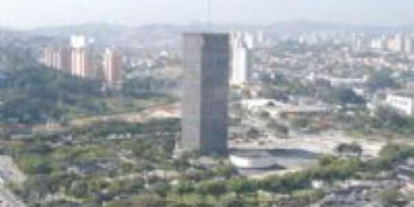 Vista área da Prefeitura de São Bernardo do Campo-SP., Por Fabiano Gomes Mariano