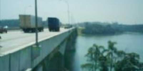 Ponte Rodoanel, sobre a Represa Billings, Por Antonio Cícero da Silva(Águia)