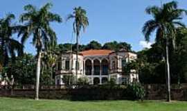 São Carlos - São Carlos-SP-Casa sede da Fazenda Santa Maria-Foto:PatyPeceguiniViana