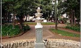 São Carlos - São Carlos-SP-Fonte na Praça Central-Foto:Fábio Barros