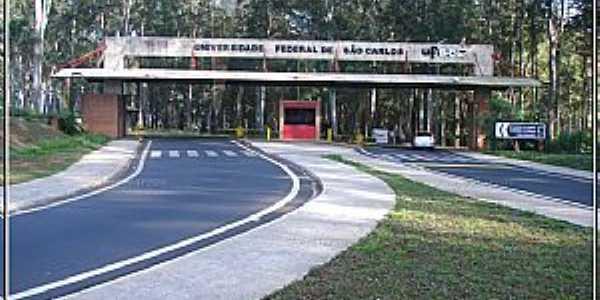 Portaria da UFSCAR _ São Carlos - Foto: Fábio Barros