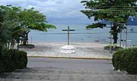 São Francisco da Praia - São Francisco da Praia-SP-Cruzeiro na Praça do Convento-São Sebastião-Foto:Cris Campanella