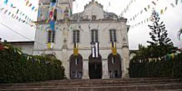 São Francisco da Praia-SP-Igreja de N.Sra.do Amparo-São Sebastião-Foto:Bruno Rocha