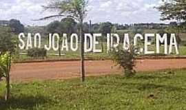 São João de Iracema - Trevo de acesso-Foto:netsji