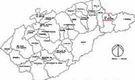 S�o Jos� do Barreiro - Mapa de Localiza��o