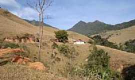 São José do Barreiro - Vista do morro da Pedra da Bacia  em São José do Barreiro-SP-Foto:J. Augusto
