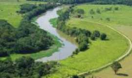 São José dos Campos - vista aérea do Rio Paraiba do Sul, Por Josefa Lacerda
