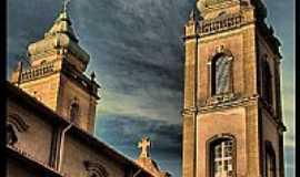 São Paulo - São Paulo-SP-Torre da Igreja de N.Sra.do Rosário de Fátima no Bairro Sumaré-Foto:AntonioJVidaL