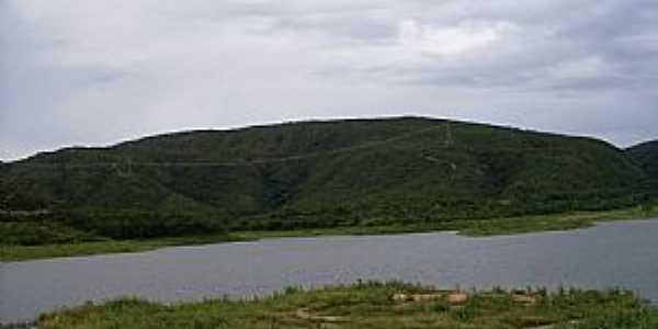 Riacho de Santana-BA-Barragem da Santana-Foto:Dênis Santana