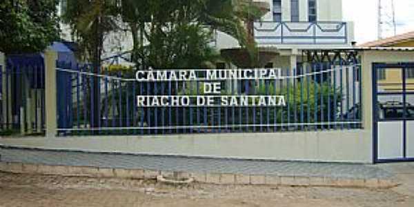 Riacho de Santana-BA-Câmara Municipal-Foto:Dênis Santana