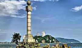 São Vicente - Marco Histórico em São Vicente-Foto:Sergio Delmonico