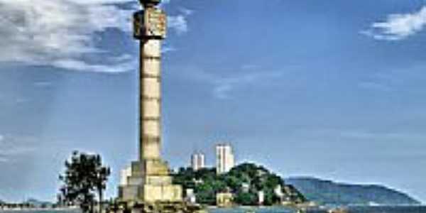 Marco Histórico em São Vicente-Foto:Sergio Delmonico
