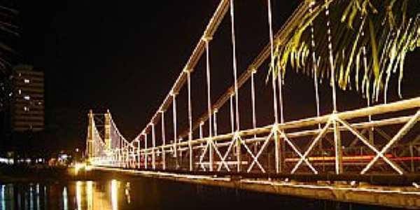 São Vicente-SP-Ponte Pênsil-Foto:Adriano Martins