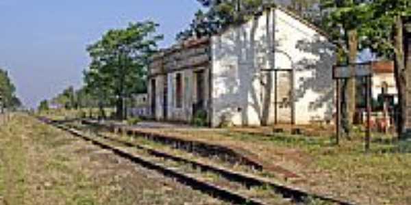 Estação de Sapezal-Foto:Eduardo M. P. Dantas