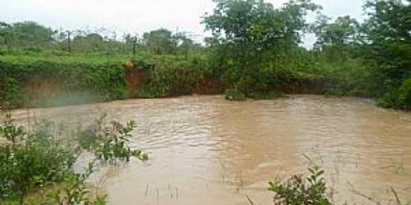 Riacho Seco-BA-Lago da Barragem-Foto:ddez.com.br