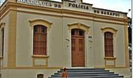 Sarapuí - Delegacia de Policia-Foto:LuziACruzFrata
