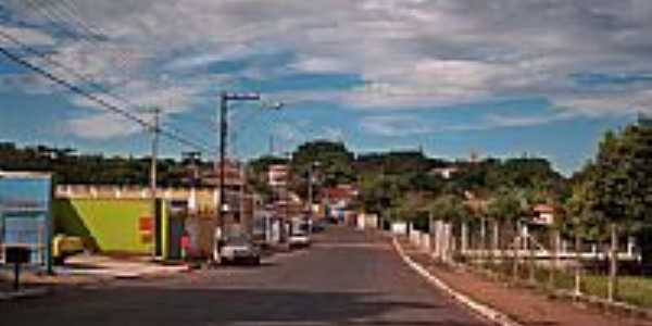 Chegada em Serra Azul por Semeão.
