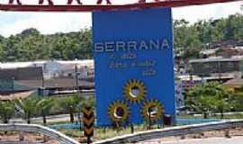 Serrana - Serrana-SP-Detalhe do Pórtico de entrada da cidade-Foto:Alexandre Bonacini