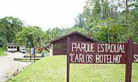 Sete Barras - Parque Estadual Carlos Botelho.