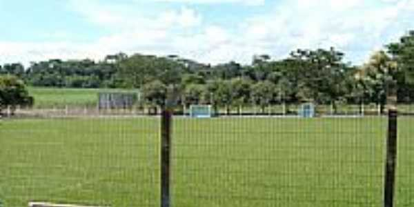 Campo de futebol de Silvânia-Foto:Leonélio Cichetto