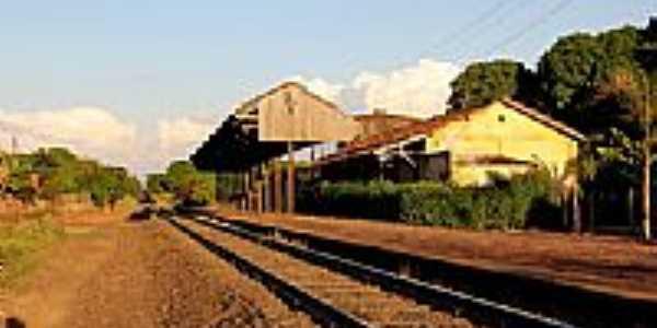 Estação de Silvânia-Foto:STUBRIC