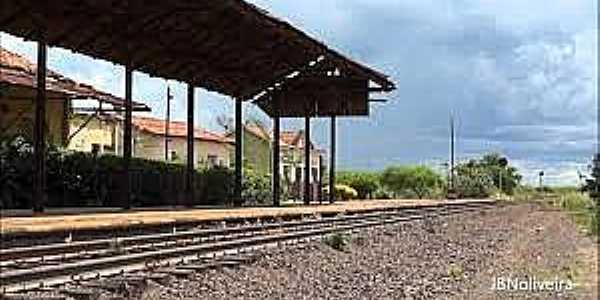 Silvânia-SP-Estação Ferroviária-Foto:João B. N. Oliveira