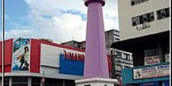 Sorocaba-SP-Relógio no centro da cidade-Foto:Fábio Barros