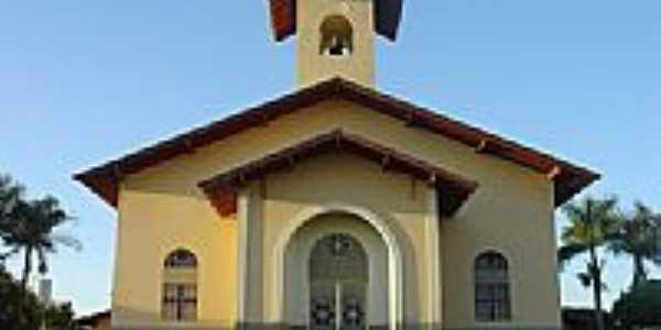 Sud Mennucci Igreja do Centro da cidade por gilsonsh