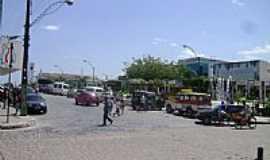 Ribeira do Pombal - Praça central de Ribeira do Pombal-BA-Foto:Gláucio Almeida