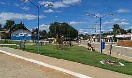 Ribeira do Pombal - Ribeira do Pombal-BA-Praça Antonio Francisco de Novais no Povoado Feira da Serra-Foto:povopombalagenda-positiva