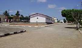 Ribeira do Pombal - Ribeira do Pombal-BA-Pra�a central do Povoado Nova Esperan�a-Foto:Gl�ucio Almeida