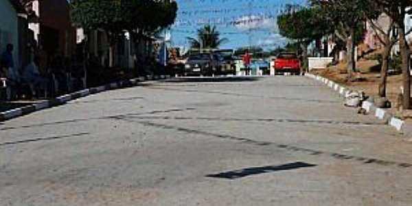 Ribeira do Pombal-BA-Rua Paraiso das Pedras no Povoado Boca da Mata -Foto;povopombalagenda-positiva