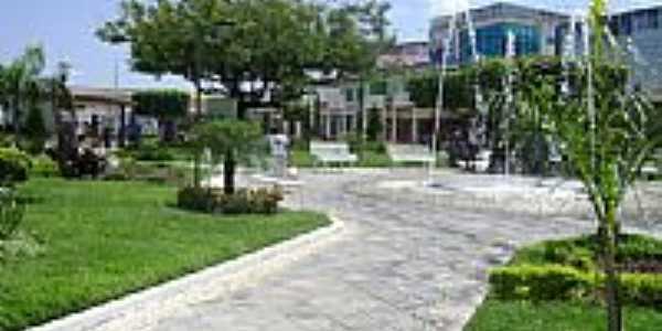 Ribeira do Pombal-BA-Praça central-Foto:Gláucio Almeida