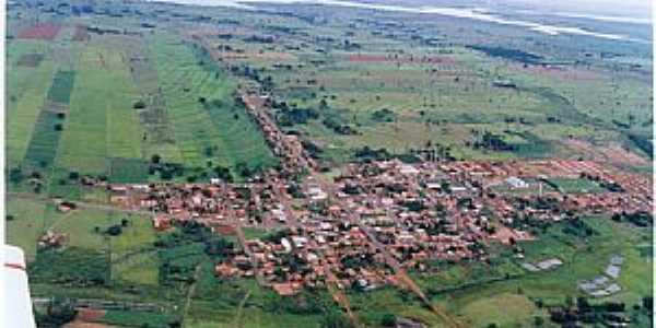Suzanópolis-SP-Vista panorâmica aérea-Foto:Engº Antonio Zizas Junior