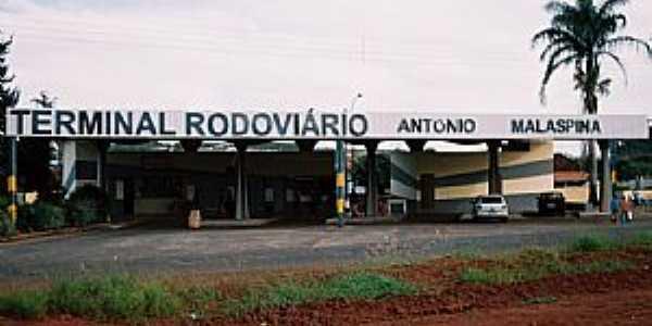 Tabatinga-SP-Estação Rodoviária-Foto:PRADO-BR2