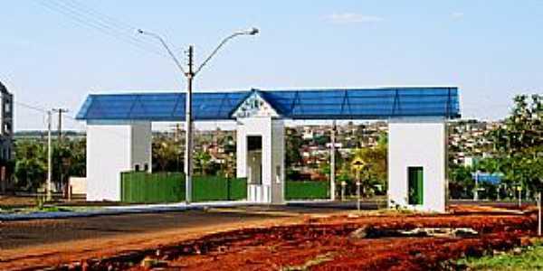 Tabatinga-SP-Pórtico de entrada da cidade-Foto:Zekinha