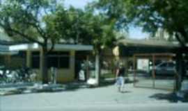 Tabo�o da Serra - Vista parcial da Prefeitura Municipal, Por Antonio C�cero da Silva(�guia)