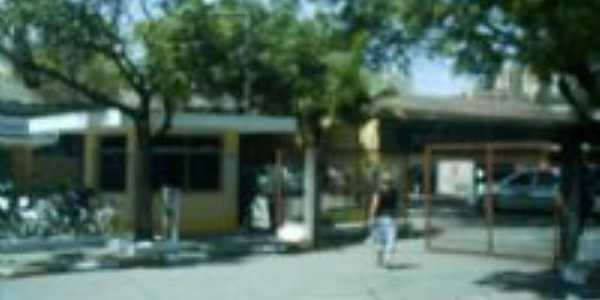 Vista parcial da Prefeitura Municipal, Por Antonio Cícero da Silva(Águia)