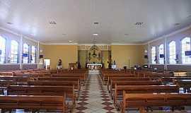 Taquaral - Taquaral-SP-Interior da Matriz do Senhor Bom Jesus-Foto:www.cepam.org